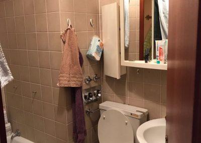 Ferienwohnung Travemünde Vorher Badezimmer